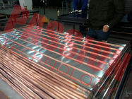 Copper Pipe Blue Film EPDM Flat Plate Solar Collector For Large Heating Project