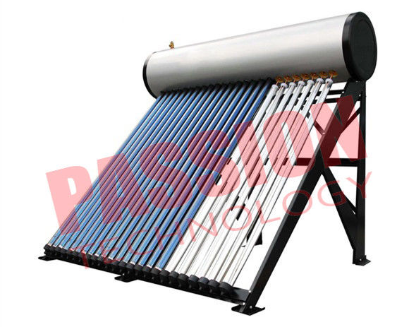 Commercial Solar Water Heater Heat Pipe For Swimming Pool 300L Capacity