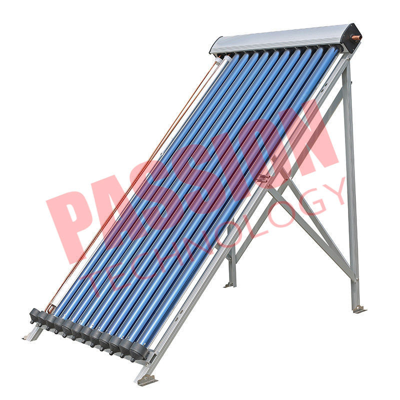 12 Tubes U Pipe Solar Collector Silver Color Aluminum Alloy Bracket