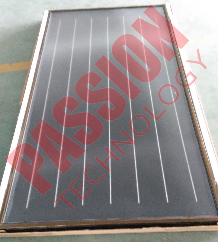 Freeze Resistant Flat Plate Solar Collector For Portable Solar Water Heater