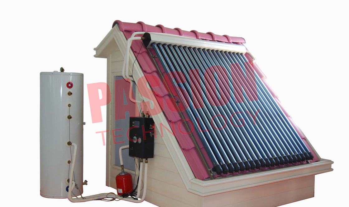 Professional 6 Bar Split Solar Water Heater Homemade For Low Temperature Area