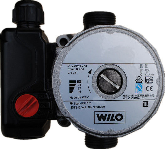 RS15/6 Wilo Circulating Pump For Solar System