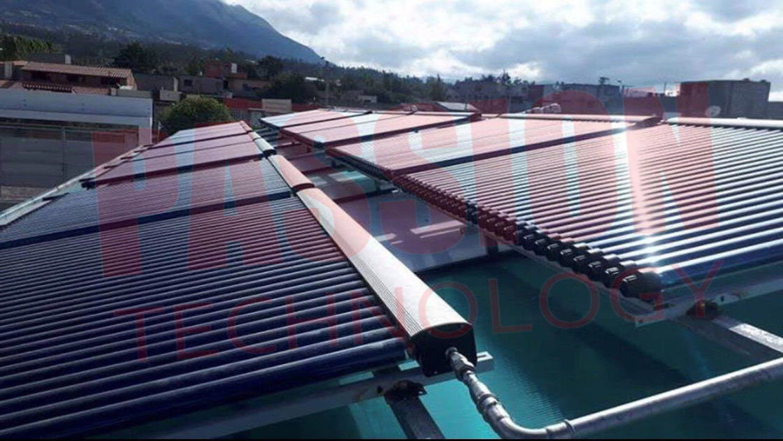 1000L-10000L Pool Hotel Solar Heating Solution Pressurized Heat Pipe Solar Collector