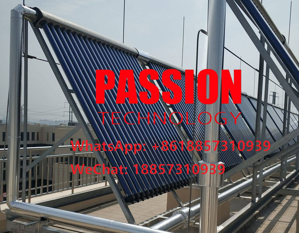 Heat Pipe Solar Panel Vacuum Tube Collector Copper Pipe Solar Collector Closed Loop Collector Pressurized Solar Panels